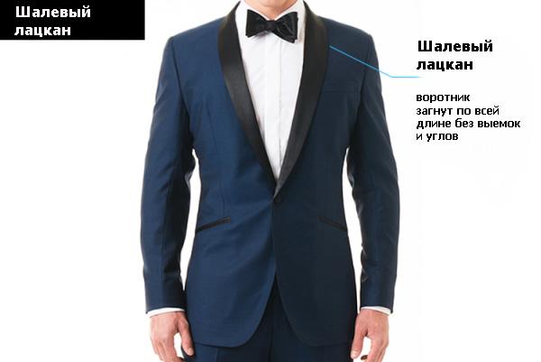 Выбираем лацканы для мужского костюма
