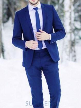 4de3700f31b4 Мужские костюмы: Мужской костюм Ник Extra Slim, темно-синий